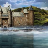 Un château ecossais