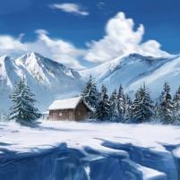 Un désert de neige au Canada