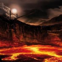 Un volcan islandais en pleine éruption
