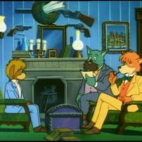 Sherlock et Watson devant un client