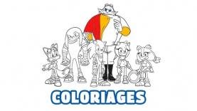 Les Coloriages Sonic Boom sur gulli.fr