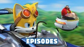 Les Episodes du dessin-animé Sonic Boom sur Gulli