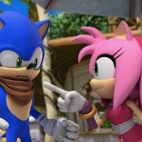Fond d'écran Sonic et Amy 2