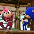 Fond d'écran Sonic et Amy