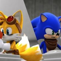 Fond d'écran Sonic et Tails 3