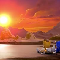 Fond d'écran Sonic et Tails