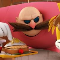 Fond d'écran Tails et Dr Eggman