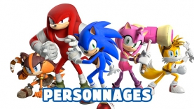 Sonic Boom - Personnages