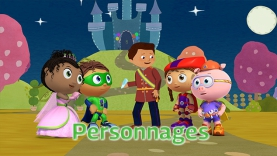 Super Tom - Personnages