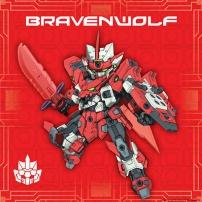 Tenkai Knights - Bravenwolf