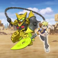Tenkai Knights - Chooki Mason et Lydendor