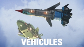 Les véhicules de Thunderbirds