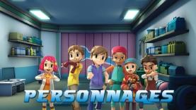 Les personnages du dessin animé Tobot sur Gulli