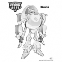 Transformers Rescue Bots: Mission Protection! - Coloriages Blades