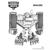 Transformers Rescue Bots: Mission Protection! - Coloriages Boulder