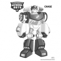 Transformers Rescue Bots: Mission Protection! - Coloriages Chase