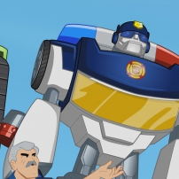 Transformers Rescue Bots: Mission Protection! - Chef Charles et Chase