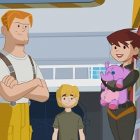 Transformers Rescue Bots: Mission Protection! - Dani, Kade et Cody