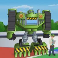 Transformers Rescue Bots: Mission Protection! - Graham et Boulder