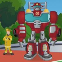 Transformers Rescue Bots: Mission Protection! - Kade et Heatwave