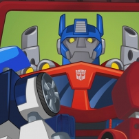 Transformers Rescue Bots: Mission Protection! - Optimus Prime