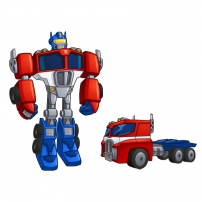 Transformers Rescue Bots: Mission Protection - Optimus Prime