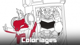 Coloriages Transformers : Robots in Disguise sur gulli.fr