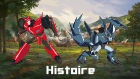 L'Histoire de Transformers : Robots in Disguise