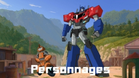 Les Personnages de Transformers : Robots in Disguise