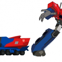 Transformers : Robots in Disguise - Optimus