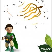 Tree Fu Tom - Les points à relier