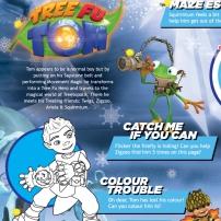 Tree Fu Tom - Mini jeux