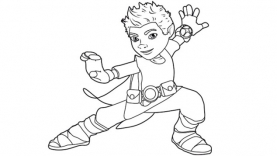 Tree Fu Tom - Coloriages