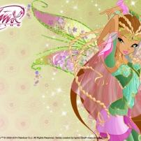 Winx Club - Fond d'écran Flora