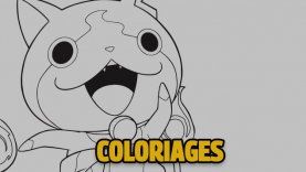Les Coloriages de de Yo-kai Watch