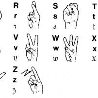 Alphabet LSF
