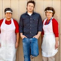 Jamie et les cuisinières