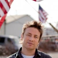 Jamie et les drapeaux américains