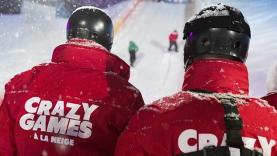 L'Emission 2 des CRAZY GAMES à la neige