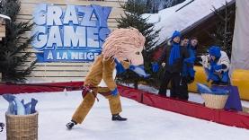 L'Emission 3 des CRAZY GAMES à la neige