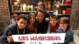 Les magiciens de l'émission Magic Kids sur Gulli