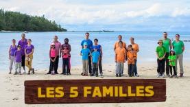Les Familles participant à Tahiti Quest