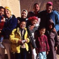 Une famille au Maroc