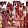 Une famille en Inde