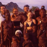 Une famille en Namibie