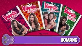 Chica Vampiro : les livres !