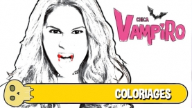 coloriages chica vampiro