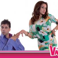 Lynette et Alvaro fond d'écran Chica vampiro