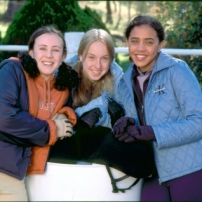 Lisa, Carole et Steph