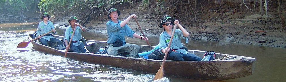 Les petits aventuriers de l'Amazone